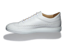 Odile Low White Sneakers