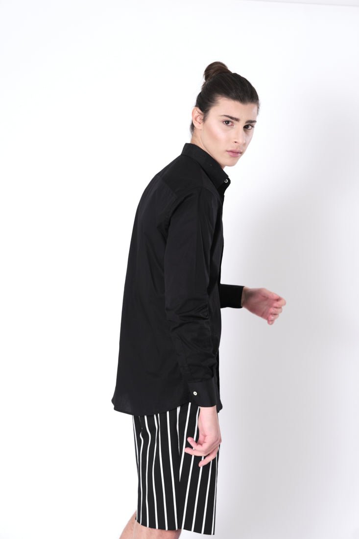 Light Lines Shirt in Black