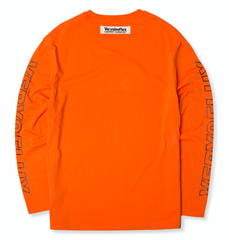 Cross Long Sleeve - Orange