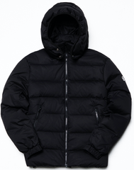 V Seal Down Jacket - Black