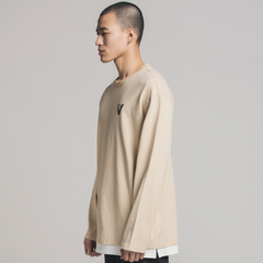 Circle Layered - Beige