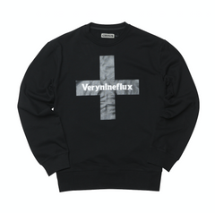 Cross Logo Crewneck - Black