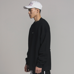 Signature Logo Crewneck - Black