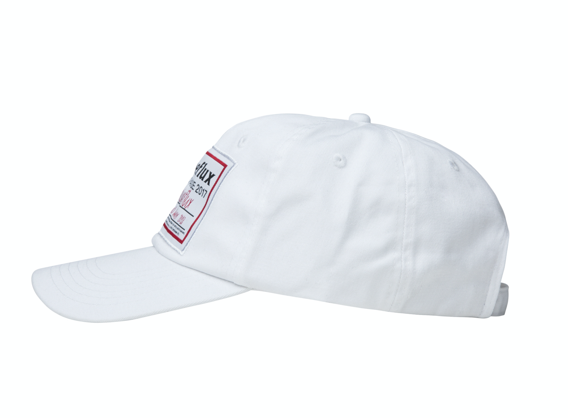 Big Label Cap - White