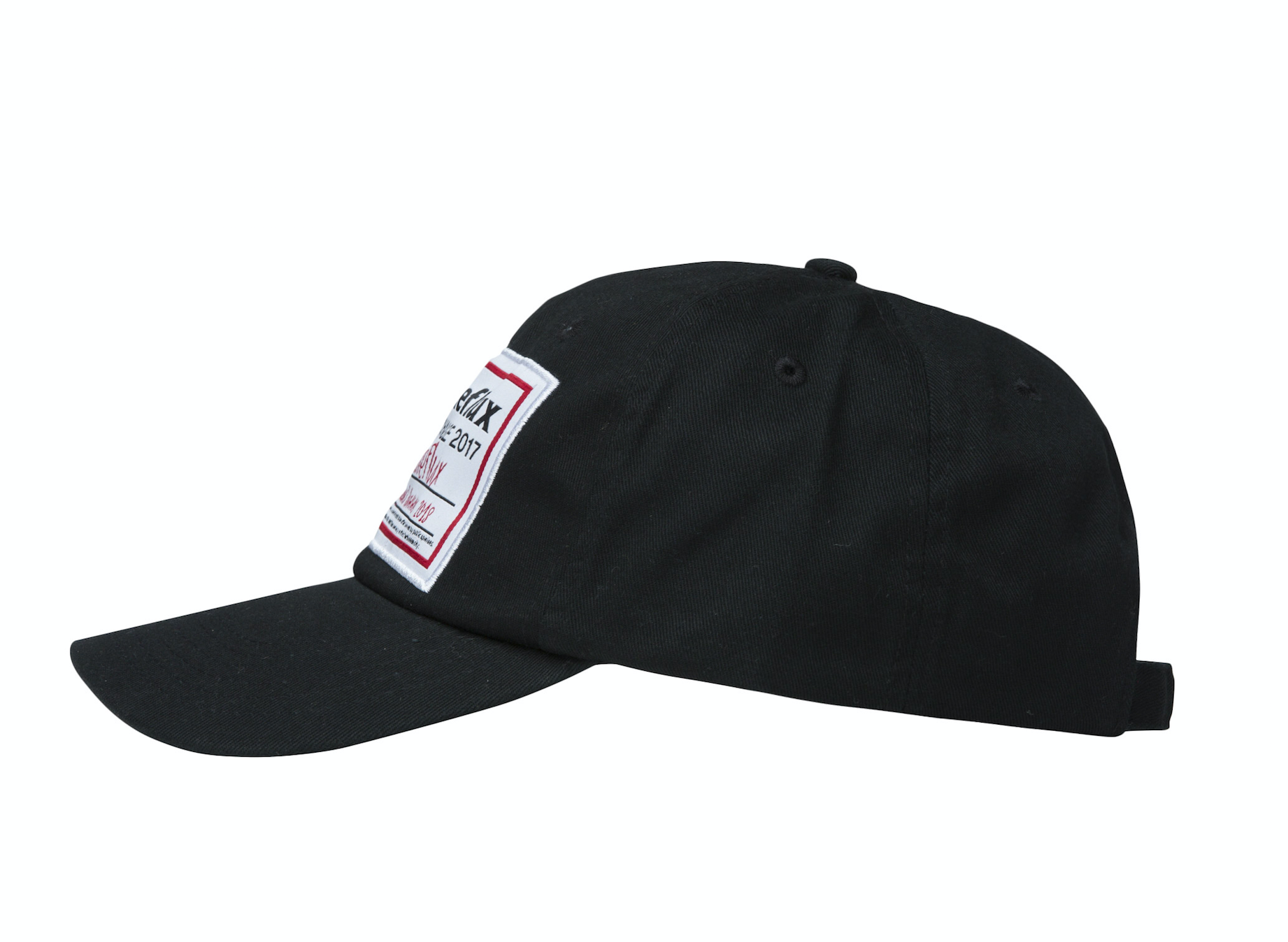 Big Label Cap - Black