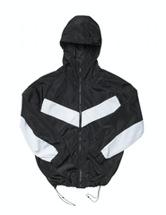 V Shell Jacket - Black