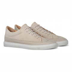 Odile Low Pearl Sneakers in Suede