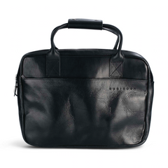 Mahana Briefcase in Black Leather