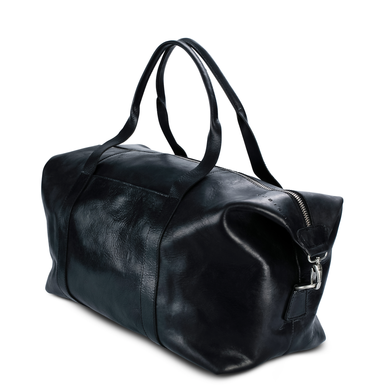 Calluna Weekender Bag in Black Leather