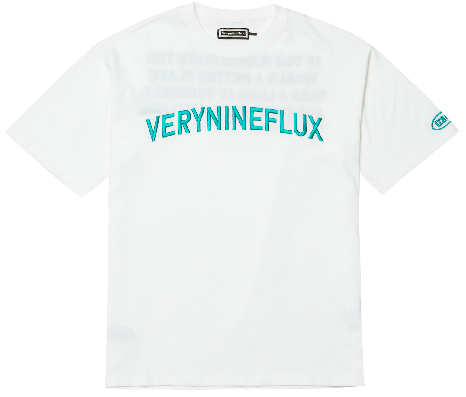 Embroidery Logo T-Shirt - White