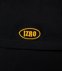 Embroidery Logo T-Shirt - Black