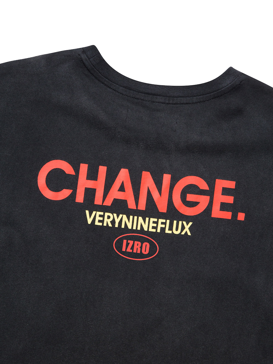 Change Pigment T-Shirt - Black