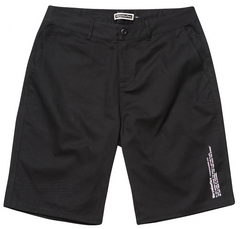 Big Label Short Pants - Black