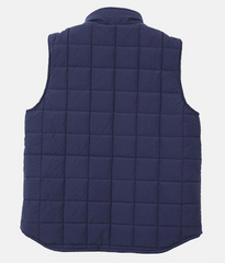 Square Quilting Shawl Collar Vest