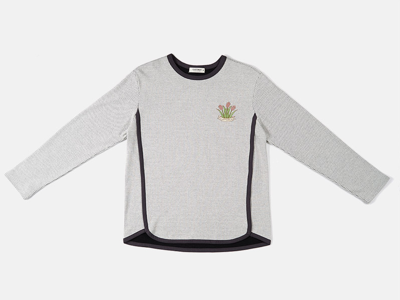 Flower Embroidery Sweatshirt