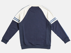 Tape Point Shoulder Divided Sweatshirt