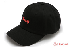 Living Coral Black Ball Cap
