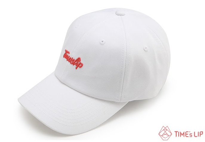 Living Coral White Ball Cap