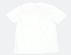 Neck Front Check Round T-Shirt