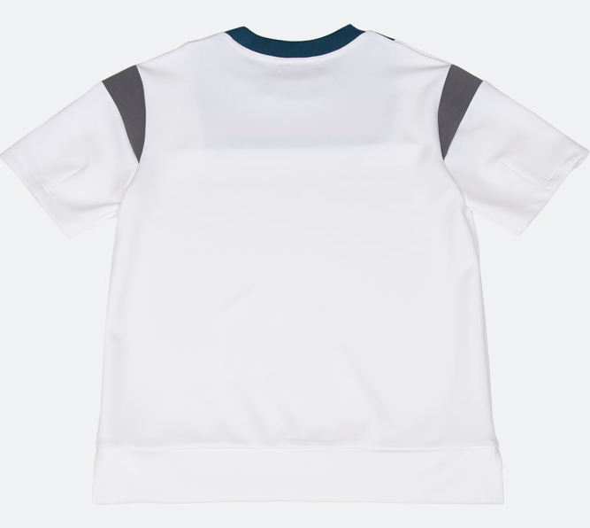 Neck Point Rib Round T-Shirt