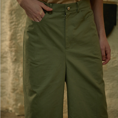 Light Khaki Pants SS19WFDDCTR006
