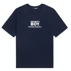 Naughty Boy Tee Navy