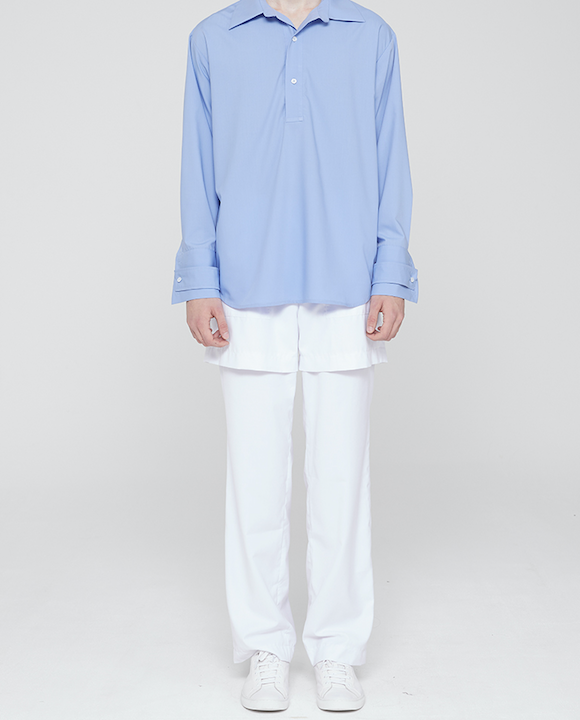 Two Fold Trousers White