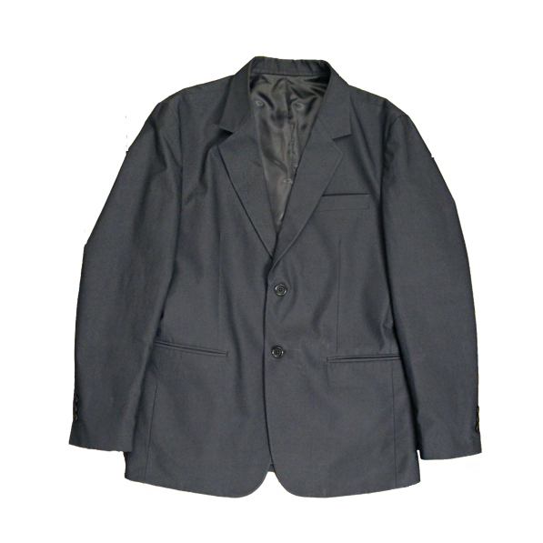 Vacant Label Blazer - Navy