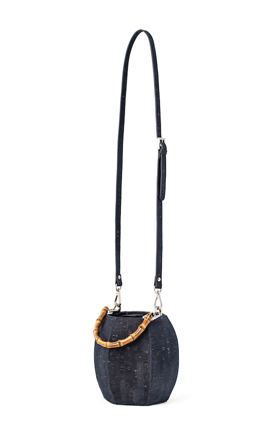 Brendel Mini Bucket Bag in Navy