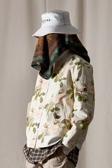 Moss Rose Cotton Artwork Blouson