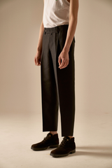 COLE'S Black Woolsilk Slacks