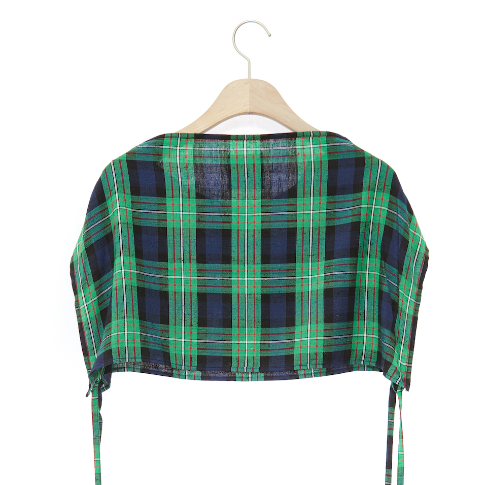 TEMCAS Crop Top Green