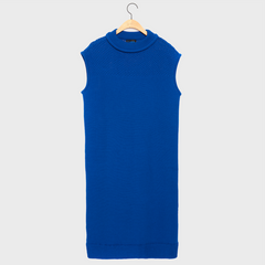 LUNKA Blue Knit One-Piece