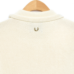 CENJI Beige Ring Crop Top