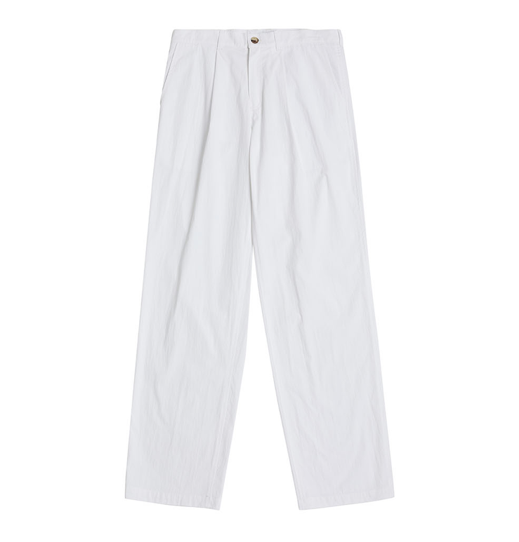 Relaxed Pants in White