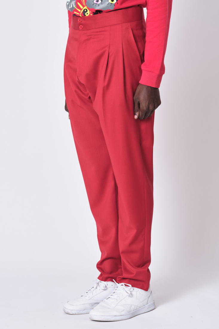 Simple Red Pant