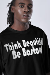 Think Beautiful T-Shirt in Black