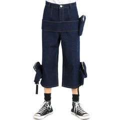 Denim Pocket Pants