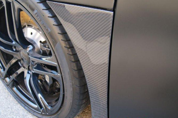 Audi R8 2007-2015 Carbon Fiber Fender Lets (2PC)