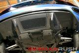 Rear Diffuser (1PC) Carbon Fiber V10 Style / Audi R8 2009-2012 (Factory Style)