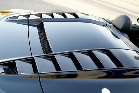 Spyder Rear Vents (2PC) Carbon Fiber / Audi R8 Spyder 2009-2015