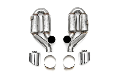 1995-1998 Porsche 993 Turbo Supercup Exhaust Without Tips