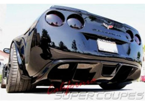 Corvette C6 Exhaust Diffuser V1  / 2 Exhaust System For All C6 Models