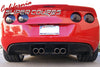 Corvette C6 Exhaust Diffuser V2  / 4 Exhaust System For All C6 Models