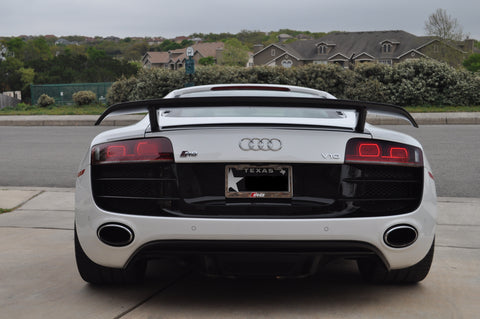 HI GT-Style Wing (1PC) Carbon Fiber / Audi R8 Coupe 2007-2015