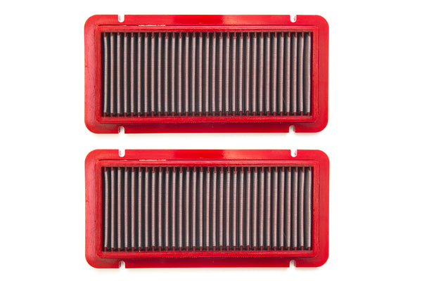 2004-2008 Lamborghini Gallardo BMC F1 Air Filter. Sold as a set of 2