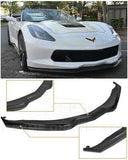 Corvette C7 Front Lip S / Carbon Fiber For Models Z06 Coupe, Z06 Convertible, 2 Door Coupe, 2 Door Convertible