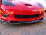 Corvette C6 Front Splitter (1PC) / Carbon Fiber For Models Z06, ZR1, Grand Sport