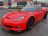 Corvette C6 Front Splitter (1PC) / Fiberglass For Models Z06, ZR1, Grand Sport
