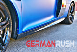 Audi R8 2007-2015 Carbon Fiber V10 Style Side Skirts (2PC)